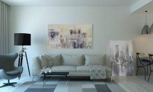 cómo decorar el salón de tu casa sin dinero